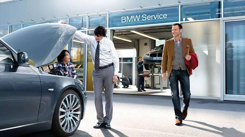 Сотрудничество с BMW